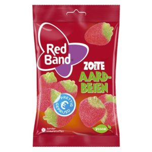 Red Band vegan Zoete Aardbeiden