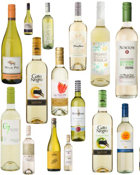 Vegan witte wijn