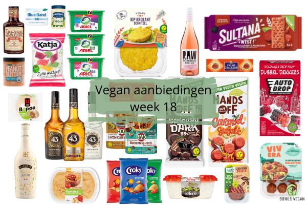 Vegan aanbiedingen Week 18