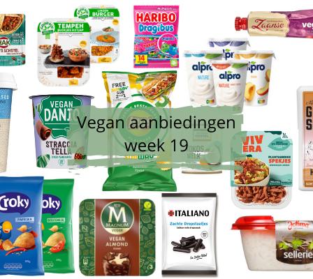 Vegan aanbiedingen Week 19