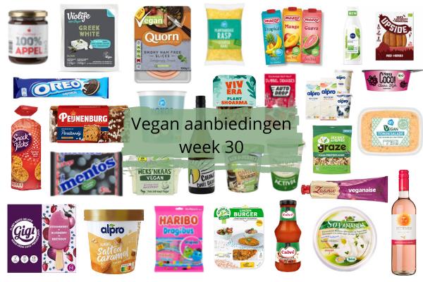Vegan aanbiedingen Week 30