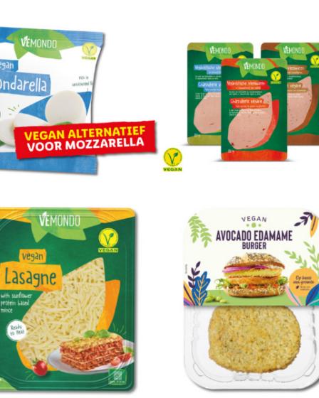 Vegan producten Lidl mondarella, ravioli, lasagne en vegan proteïne pasta