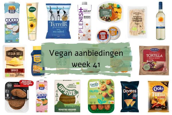 Vegan aanbiedingen Week 41