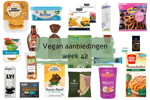 Vegan aanbiedingen Week 42